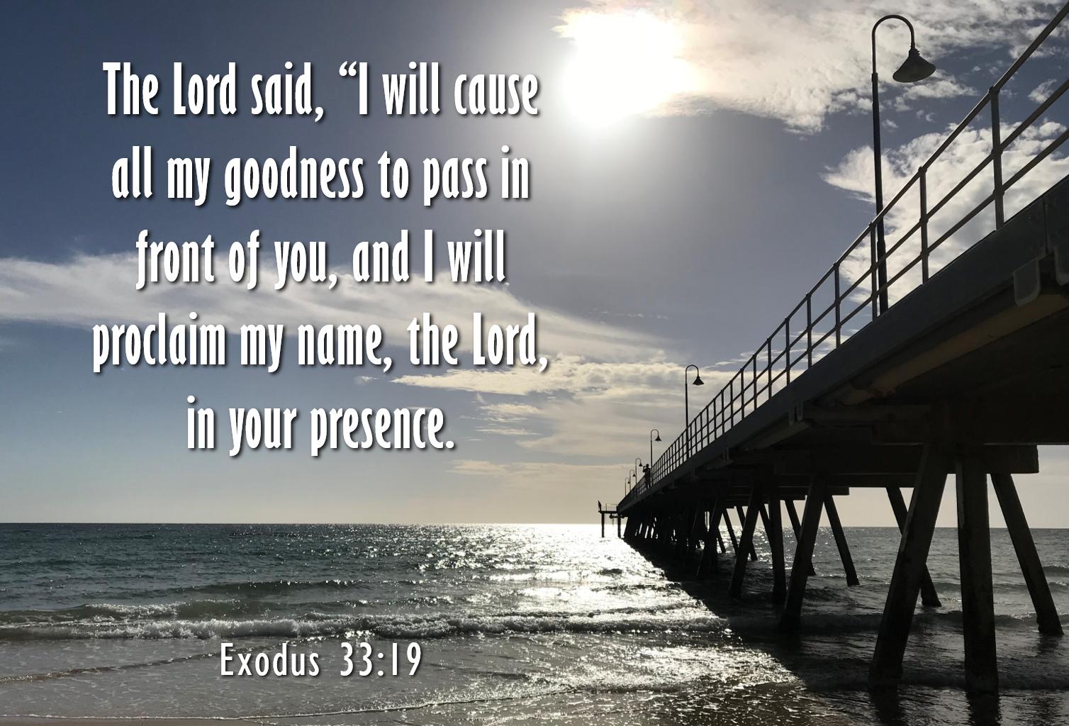 A Glimpse of God